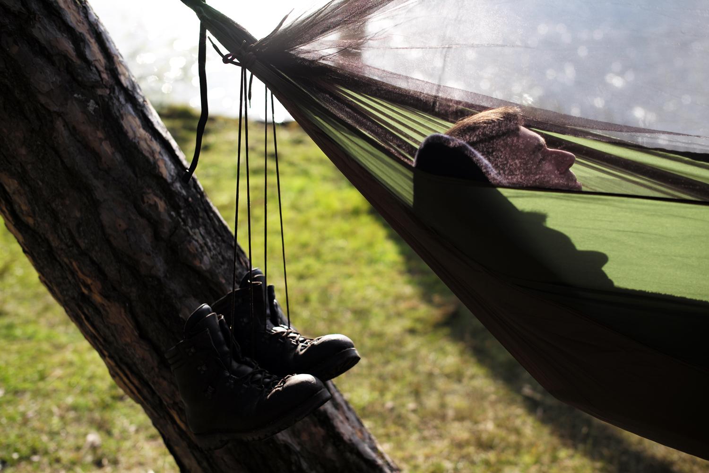 AMAZONAS Hängematte Adventure Moskito Hammock Thermo