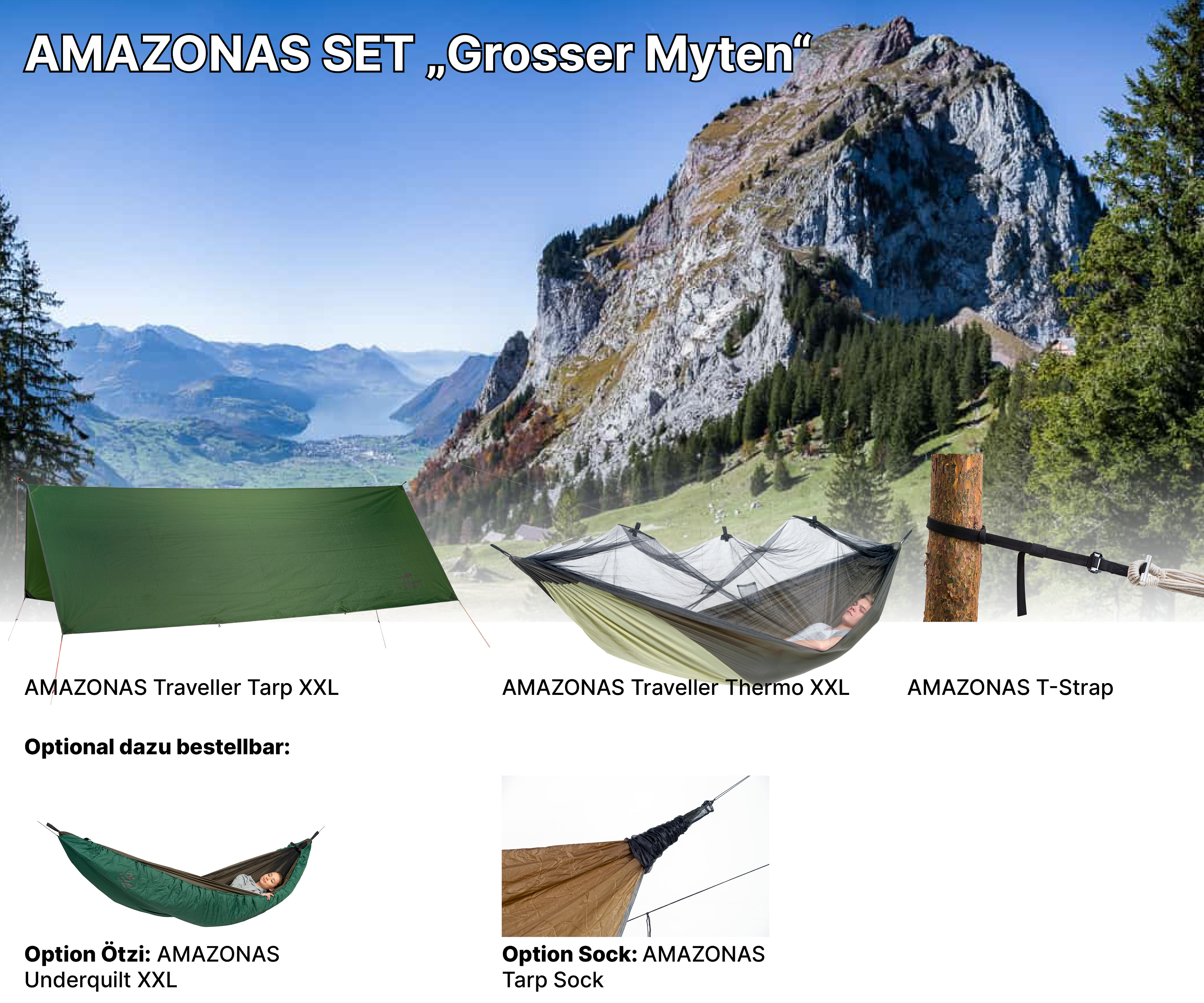 AMAZONAS Adventure Set Grosser Myte